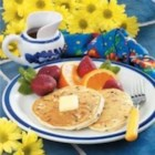 Chocolate Chip Pancakes - 'This is a great breakfast for special days, but it mixes up so fast that it's perfect for busy mornings as well,' says LeeAnn Hansen of Kaysville, Utah.