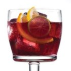 Red Sangria with Truvia(R) Natural Sweetener - The flavor of this red sangria is brimming with fruit and a spicy twist.  Enjoy it over lots of ice on a hot summer night.  Sweetened with Truvia(R) natural sweetener, this refreshing drink contains only 80 calories per serving.