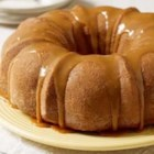 Moist Caramel Apple Cake by JELL-O - Inspired by a childhood favorite, this recipe reinvents the caramel apple as a cake, with fresh, tangy chopped apples baked into a treat that's a whole lot easier to eat.