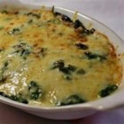 Gruyere Spinach Casserole - Gruyere cheese and spinach combine to make a casserole that will tempt and delight everyone at the dinner table or social gathering.