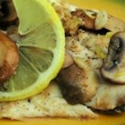 Zesty Tilapia with Mushrooms - Tender tilapia and distinctive porcini mushrooms are cooked with lime juice and butter.