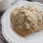 Danish Oatmeal Cookies - These buttery Danish oatmeal cookies made with pecans are small and light.