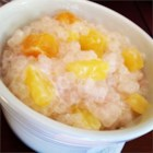 Cambodian Tapioca-Banana Pudding - This is a Cambodian recipe that I've learned from a Cambodian-American friend of mine.  I'll even eat it for breakfast!  It's delicious served warm, can be dressed up with other fruit and is also a refreshing cold dessert.