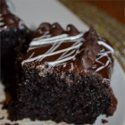Black Magic Cake - Super spooky dark chocolate cake. Suitable for all your black magic get-togethers.