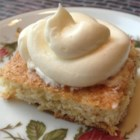 Liz's Banana Bars - These sweet and moist banana bars are frosted with a cream cheese frosting for a treat sure to become one of your favorites.