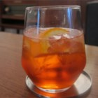 Aperol(R) Spritz - Aperol(R) poured over a glass of iced Prosecco is a refreshing 'spritz' at happy hour.