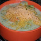 Best Cheesy Broccoli Soup - Broccoli and cheese, of course, but also potatoes, celery, and carrots fill this soup with hearty goodness.