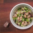 Melissa's Black-Eyed Pea Salad - A simple and lightly sweet vinaigrette dresses this vegetable-laden black-eyed pea salad. Make it the day before so the flavors can mingle.