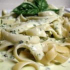 Quick and Easy Alfredo Sauce - Cream cheese is the secret to this quick Alfredo sauce.