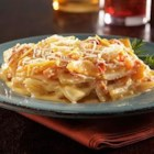 Au Gratin Mexicali - Idahoan's Au Gratin Mexicali is a spicy twist on traditional potatoes. Add a little salsa, some cheese, and presto, you're done!