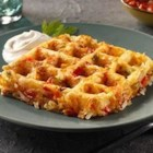 Shonna's Waffle Browns - Repurpose your waffle maker and wake up your mouth with this zesty recipe for Waffle Browns to start your day.