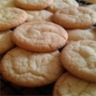 Easy Sugar Cookies - Quick and easy sugar cookies! Terrific plain or with candies in them. This recipe uses basic ingredients you probably already have.