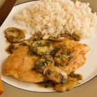 Veal or Chicken Marsala - Thin boneless chicken breasts (or veal cutlets) are quickly pan fried, then served with a Marsala sauce and sauteed mushrooms and fresh herbs.