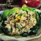 Holland House(R) Lemon Chicken Salad - Simmering the chicken in cooking wine adds lots of flavor to this refreshing main dish salad.