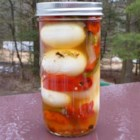 Garlic Pickled Eggs