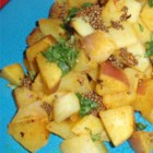 Faux Bombay Potatoes - Replace potatoes with turnips for a nice variation on an Indian side dish.