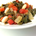 Collard Greens with White Beans