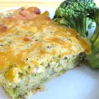 Broccoli Cornbread with Cheese - Even the pickiest eaters will learn to love broccoli, especially when it's surrounded by cornbread and plenty of cheese.