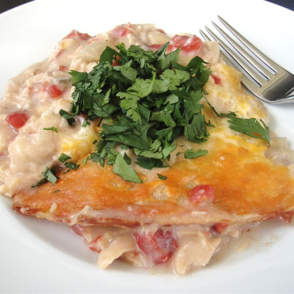 Chicken Tortilla Casserole Erin Clifton