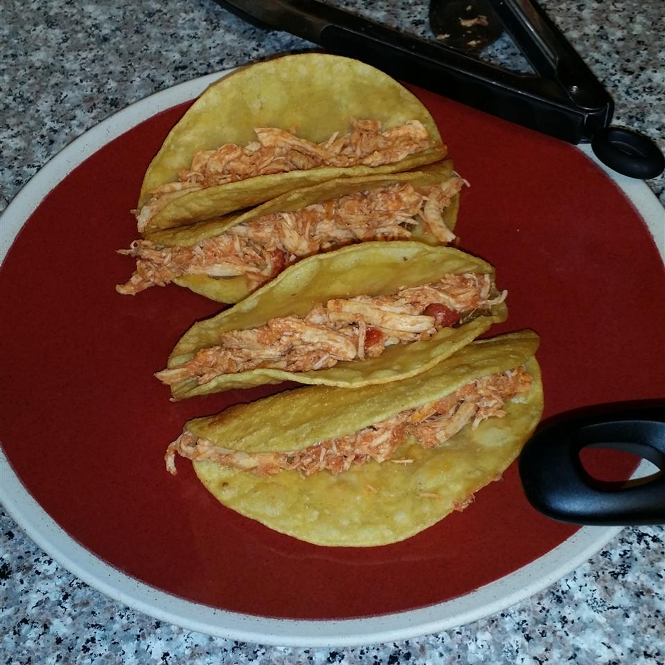 Sarah's Easy Shredded Chicken Taco Filling Jamie Pack