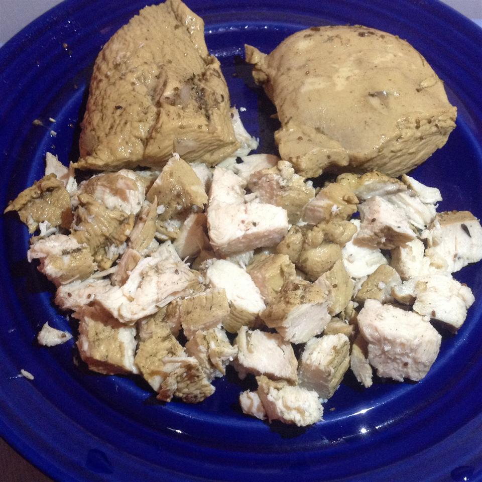 Poached Chicken Breast BigShotsMom
