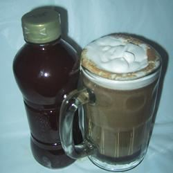 Chocolate Caramel Latte Syrup