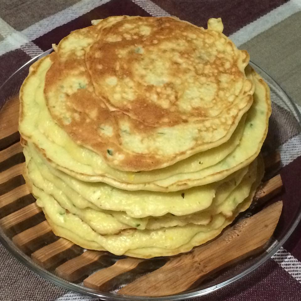 Pattypan Squash Pancakes