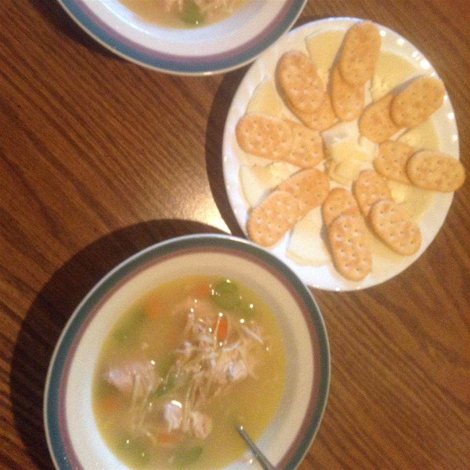 Chef John's Homemade Chicken Noodle Soup HenryJamesBeaufont