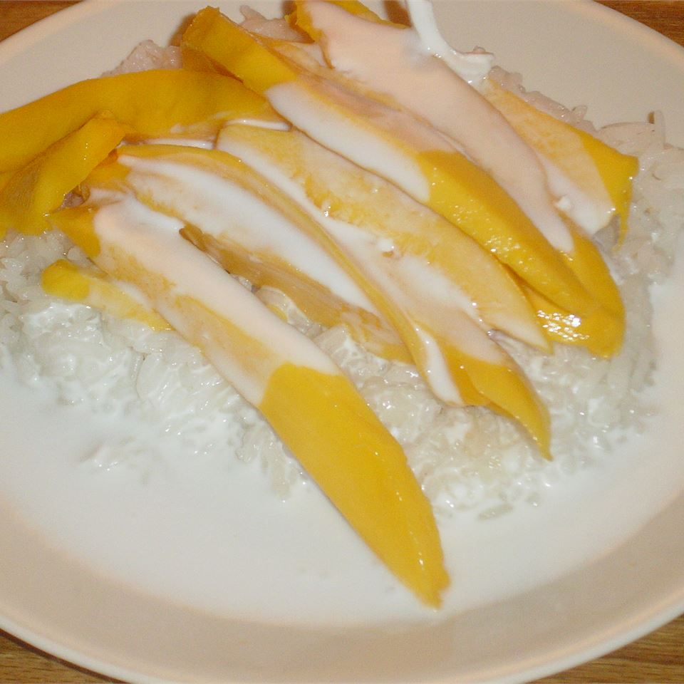 Sweet Rice and Mango