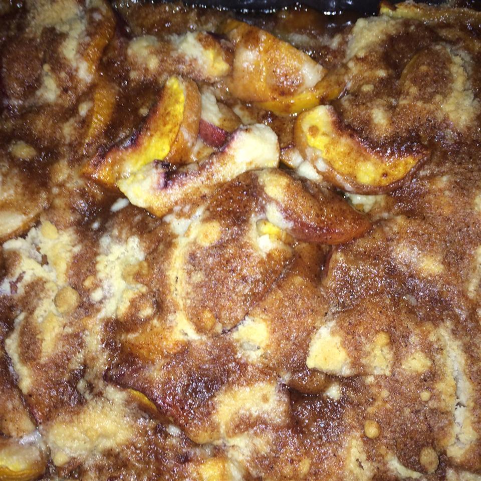 Peach Cobbler Dump Cake Ii Recipe Allrecipes Com Allrecipes