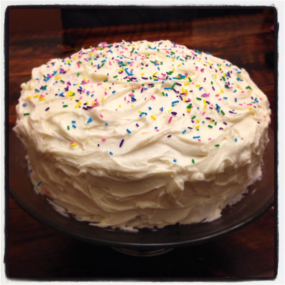 Simple White Cake image