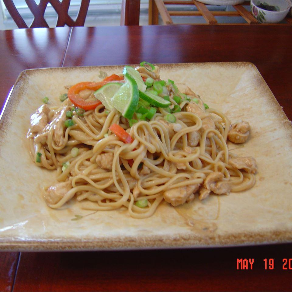 Pasta With Peanut Sauce MARBALET