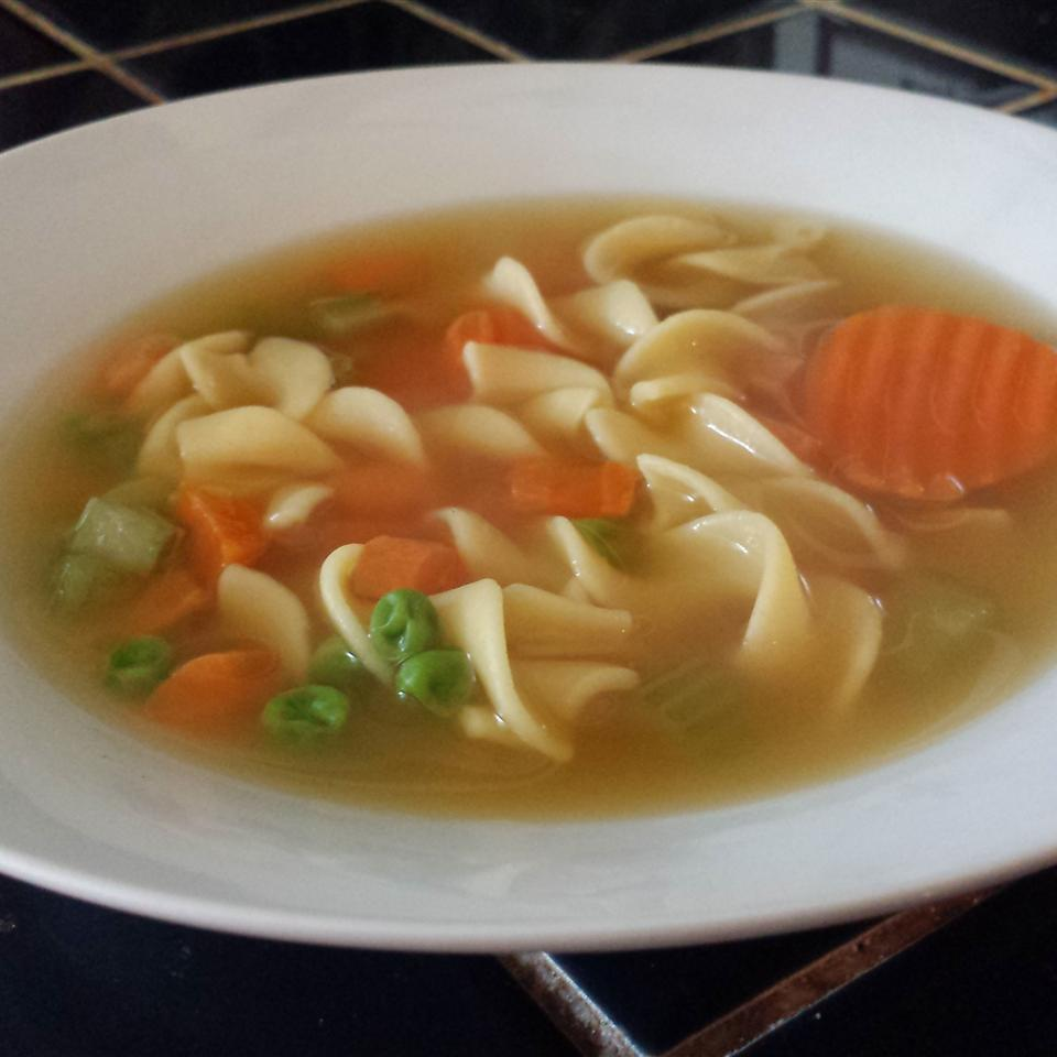 Chunky Chicken Noodle Soup Kathi