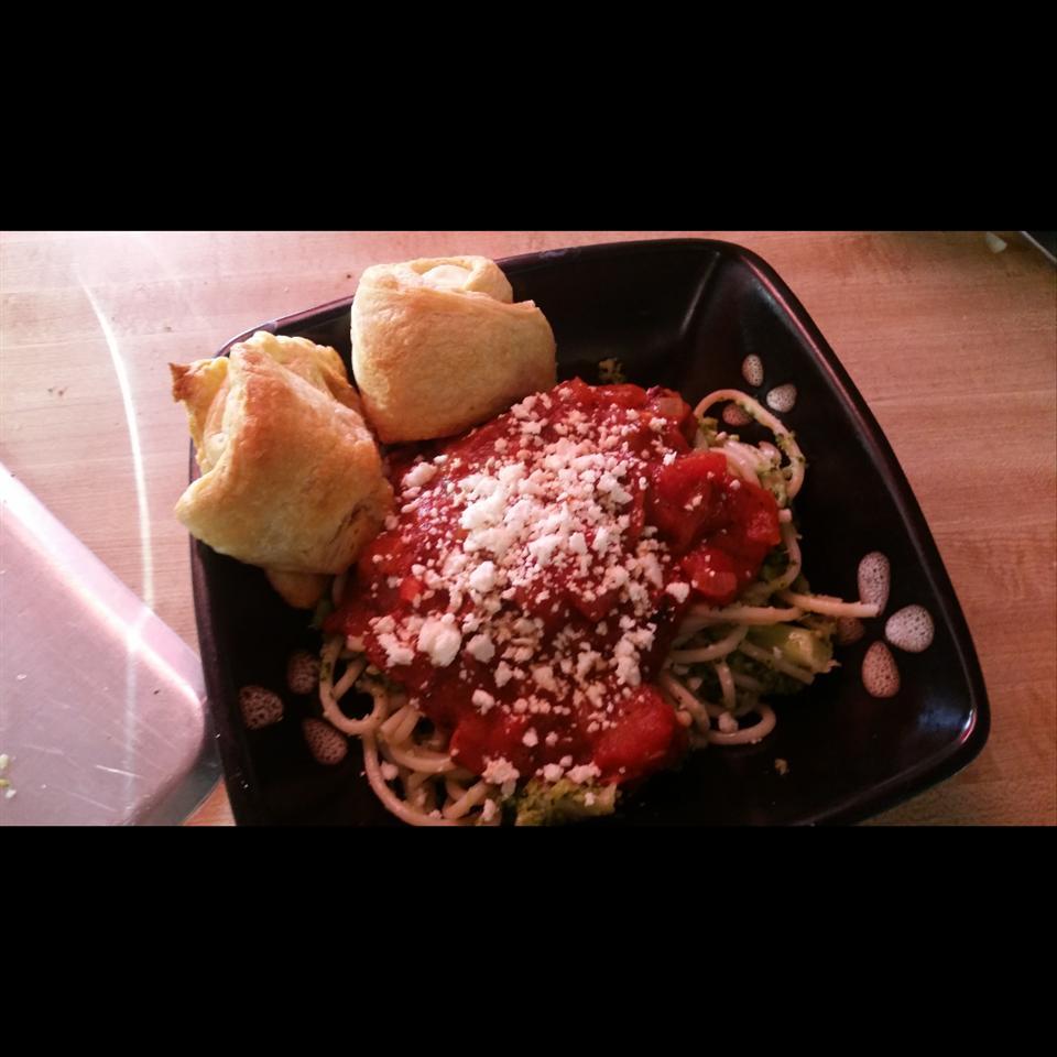 Pasta with Broccoli and Bacon Jennefer Hernandez