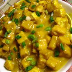 Honey Mustard Tofu