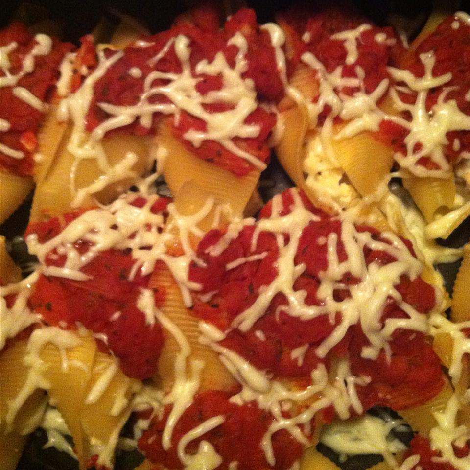 Tofu and Cheese Stuffed Shells jrucker361