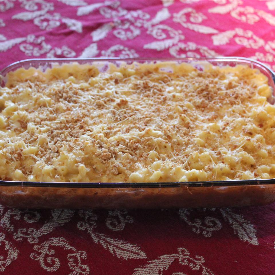 Four-Cheese Truffled Macaroni and Cheese