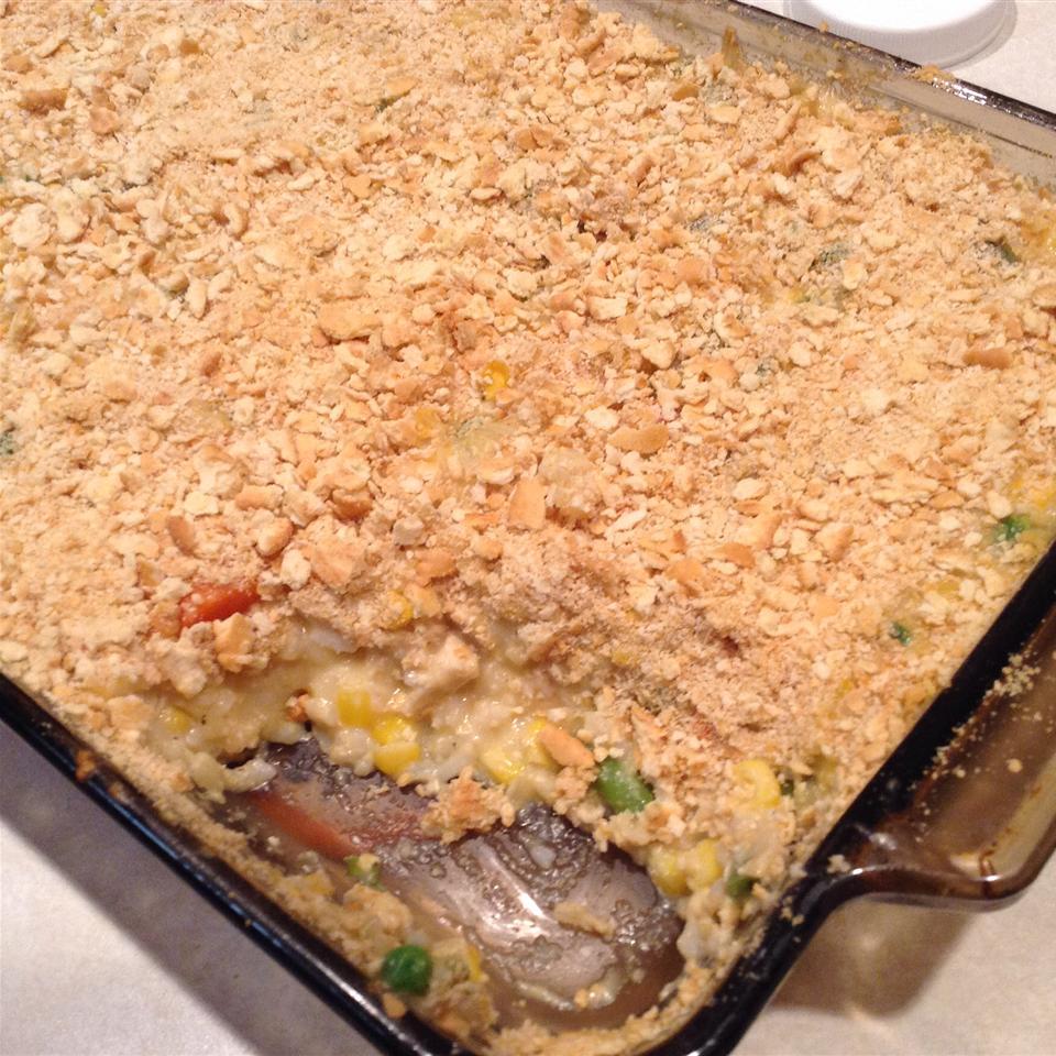 Veggie Chicken Rice Casserole Rachel Pelch