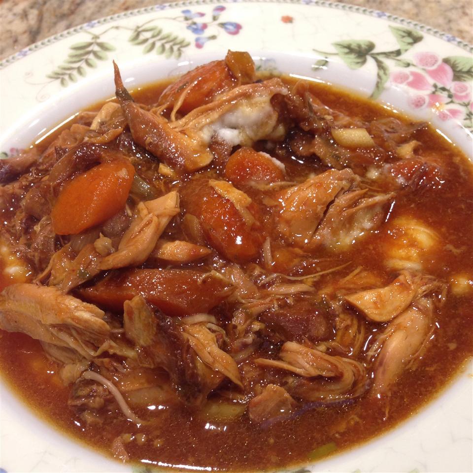 Honey-Garlic Slow Cooker Chicken Thighs jnnelson1223