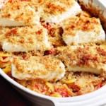 Mediterranean Roasted Fish & Vegetables