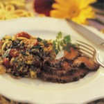 Flank Steak with Coffee-Peppercorn Marinade