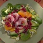 Endive & Pomegranate Salad
