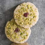 Cranberry-Pistachio Sugar Cookie Thins
