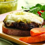 Portobello & Beef Patty Melt