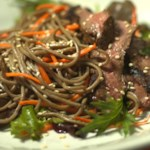 Japanese-Inspired Beef & Noodle Salad