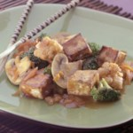 Tofu & Veggies with Maple Barbecue Sauce