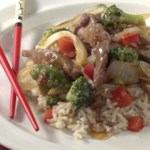Orange-Scented Beef Stir-Fry