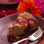 Cranberry-Apple Coffee Cake