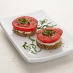 Tomato & Basil Finger Sandwiches