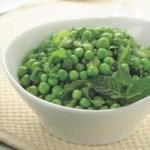 Peas & Lettuce